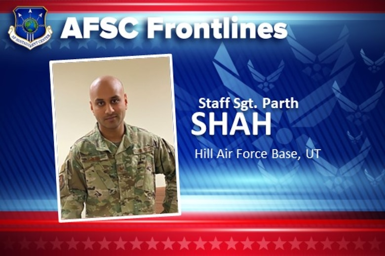AFSC Frontlines: Staff Sgt. Parth Shah