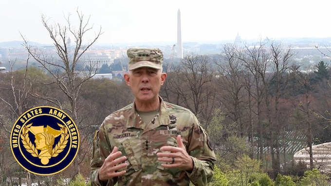Lt. Gen. Charles D. Luckey, chief of Army Reserve and commanding general, U.S. Army Reserve Command, reinforces his previous guidance on maintaining proper standards and discipline to ensure we limit the spread of COVID-19. Updates include battle assemblies, pay for Army Reserve Soldiers, and how America's Army Reserve is providing support in the fight against the coronavirus. For more information, visit https://www.usar.army.mil/COVID19/.