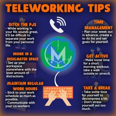 Team Minot provides tips for teleworking.