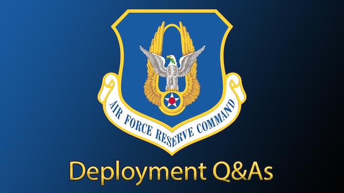 Deployments Q&A graphic to accompany article outlining Q&As