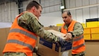 U.S. Army Europe Reserve Soldiers support medical supply mission during pandemic