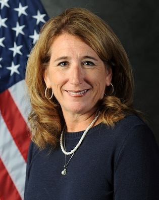 Official Air Force photo for Bethany Harris, 131st Bomb Wing Director of Psychological Health.