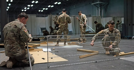 Soldier build shelving