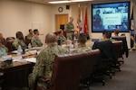DLA Joint Reserve Force Director visits DLA Distribution San Joaquin