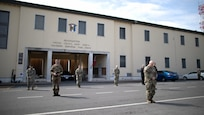 American and Italian leadership observe Italy's Coronavirus moment of silence