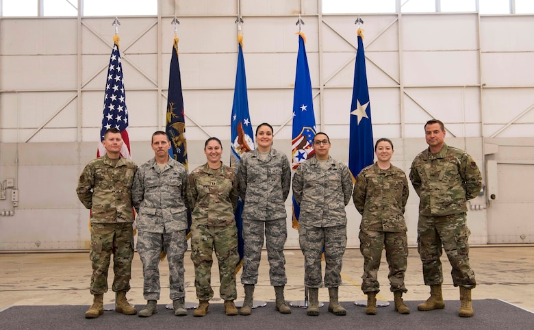 The 110th Wing commends its members for a year of excellence during the Wing's annual town hall and awards ceremony