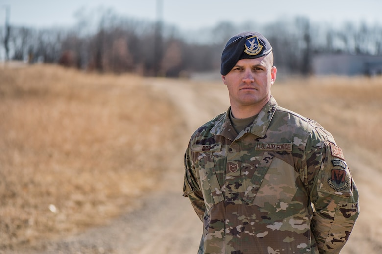 Tech. Sgt. Christopher Reed, member of the 110th Security Forces Squadron, was selected to be on the Air National Guard team for Defender Challenge 2020.