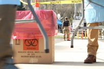 D.C. National Guardsmen support District COVID-19 testing
