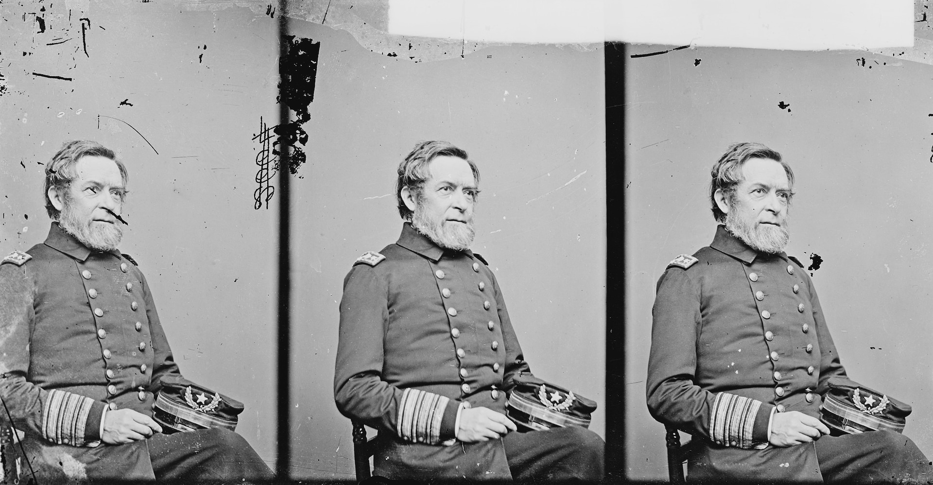 Commodore Andrew H. Foote, ca. 1860–1865 (National Archives and Records Administration/Mathew Brady)