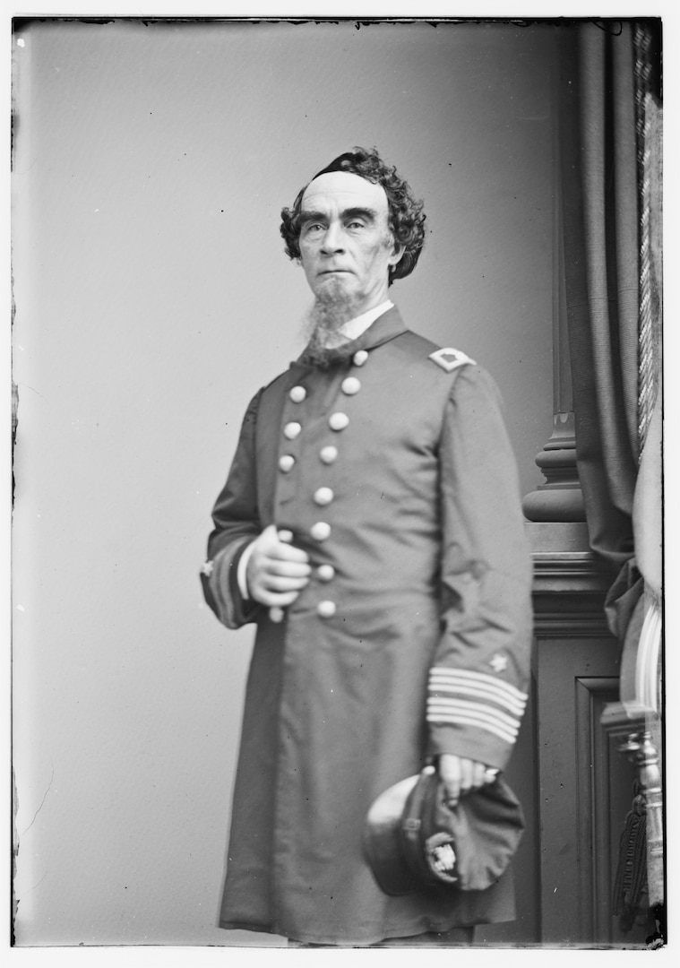 Captain Henry Walke, ca. 1861–1865 (Library of Congress/Mathew Brady)