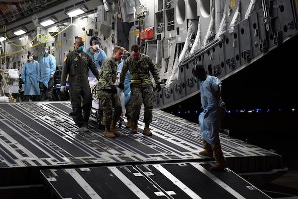 c17 globemaster aeormedical evacuation osan