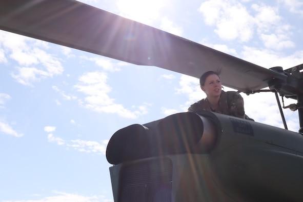 Photo of a flight crew member.