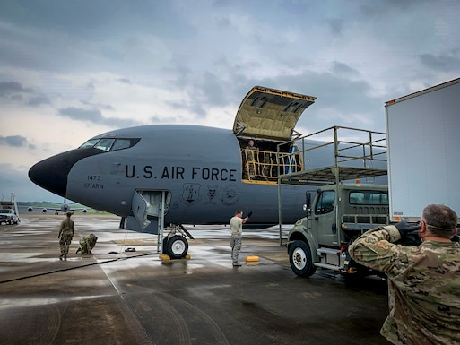 Airmen Return From Overseas Deployment