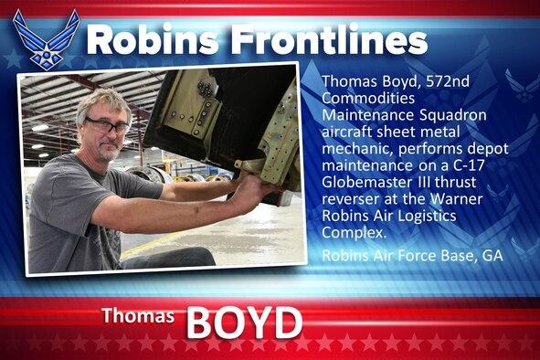 Robins Frontlines: Thomas Boyd