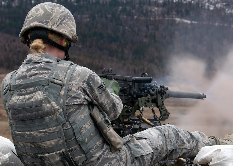 Machine gunning to maintain mission readiness