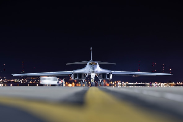 Pair of Ellsworth B-1's further demonstrate force employment model in Pacific