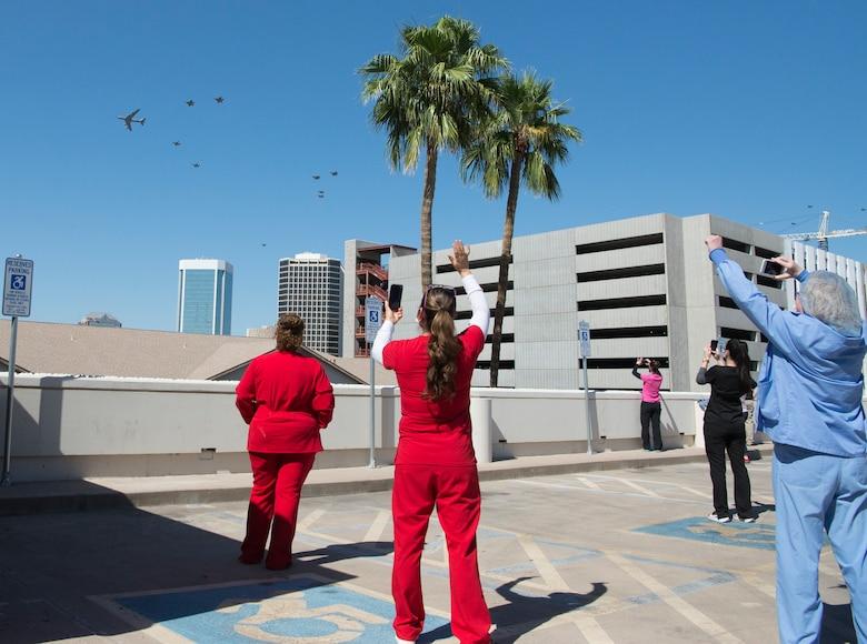 Luke, Arizona ANG salute Phoenix