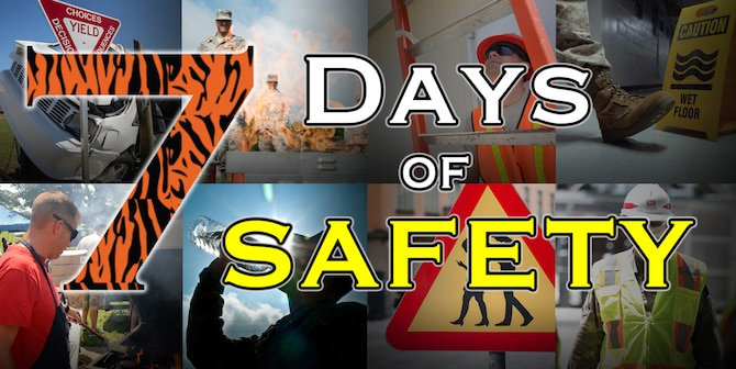 7 Days of Safety collage