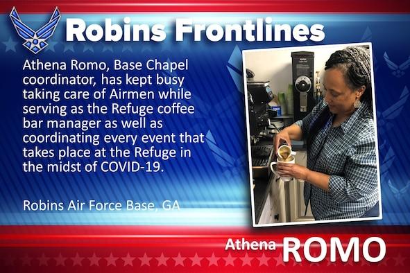 Robins Frontlines: Athena Romo