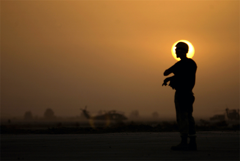 Co-workers and peers are in the best position to identify when someone is struggling. Having the courage to reach out to another Airman who is having a difficult time is the first and most critical step toward suicide prevention. (U.S. Air Force photo/Staff Sgt. Shane A. Cuomo)