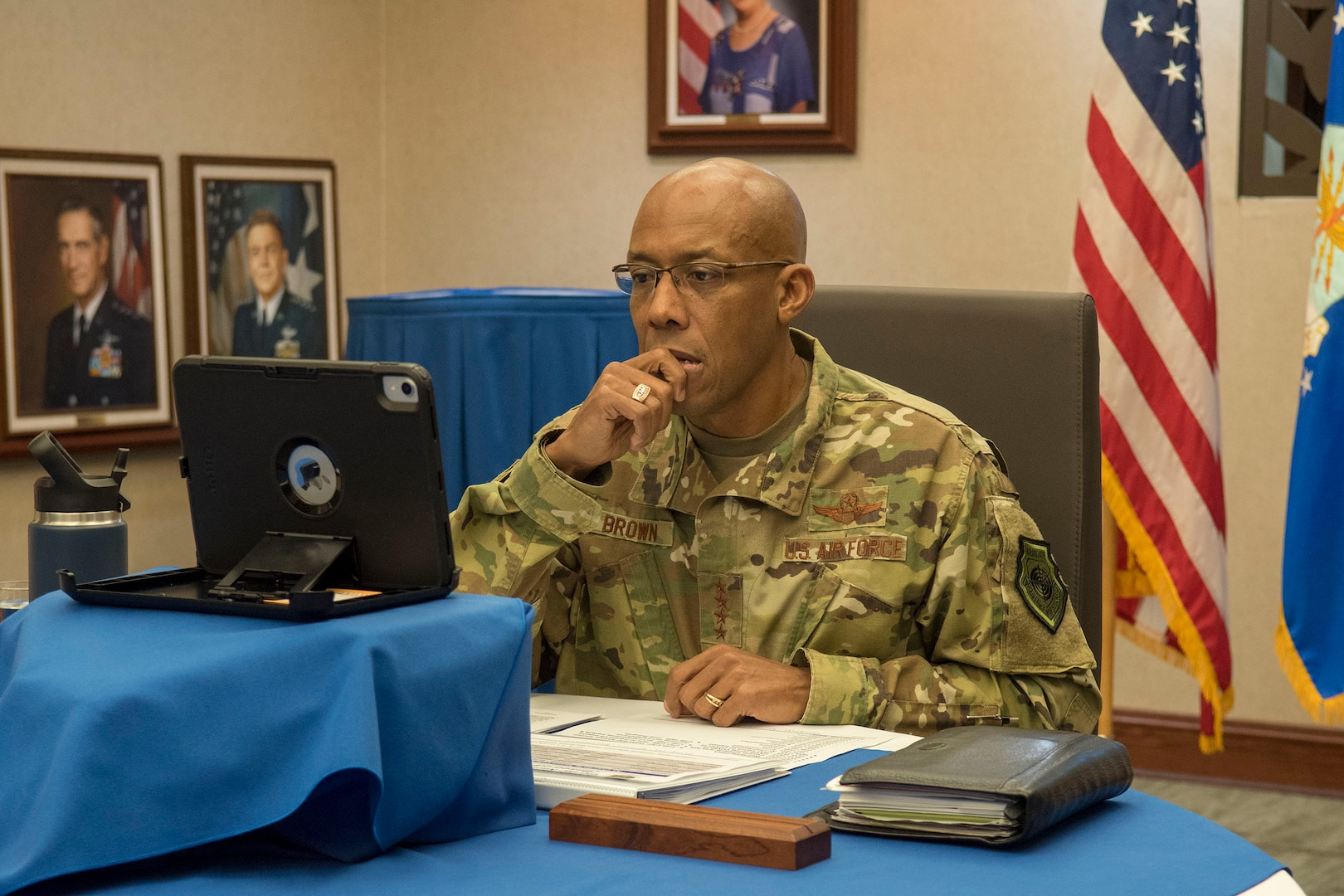 Virtual Conference Unites 19 Air Forces on Pandemic Response
