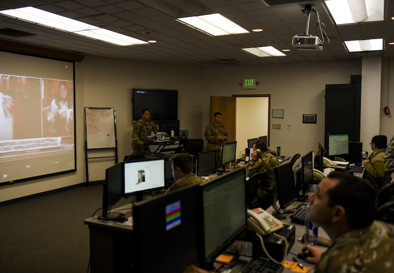 The Emergency Operations Center (EOC) activated recently due to the COVID-19 pandemic to coordinate and communicate emergency procedures and supply logistics for Recce Town.
