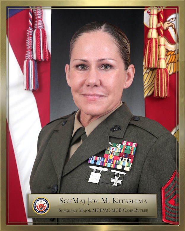 SERGEANT MAJOR JOY MARIA KITASHIMA bio photo