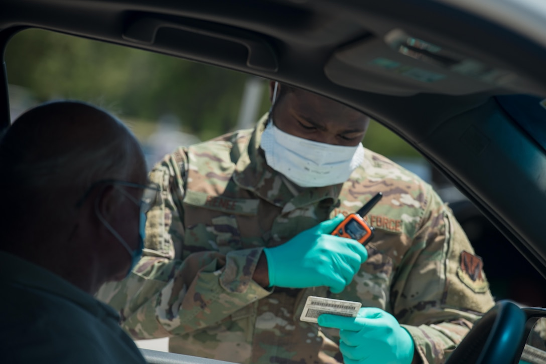 The 20th Medical Group pharmacy launched a curbside prescription pickup service outside the Base Exchange satellite pharmacy, April 27.  To utilize this new service available on Mondays from 8 a.m to 5 p.m., prescriptions must be submittedby noon on Thursday.
