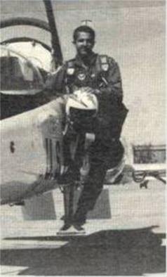 Maj. Fernando L. Ribas-Dominicci, a Laughlin pilot training graduate, was shot down April 15, 1986 over Libya during Operation El Dorado Canyon. (U.S. Air Force photo)