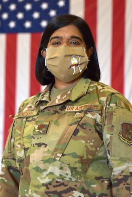 Maj. Lizy Windsor, 944th Medical Squadron clinical nurse, was prepared to support the pandemic before the official notification came through.