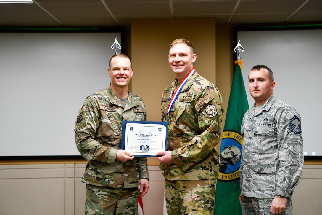 The Western Air Defense Sector holds its annual awards ceremony Jan. 11, 2020, on C-level on Joint Base Lewis-McChord.