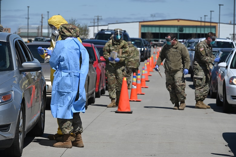 N.D. National Guard continues COVID-19 testing efforts
