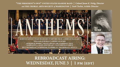 Anthems REBROADCAST - June 3 at 1 p.m.