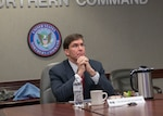 Secretary of Defense Mark Esper visit to NORAD and USNORTHCOM