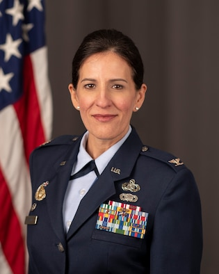 Col Kathryn Brown official photo.