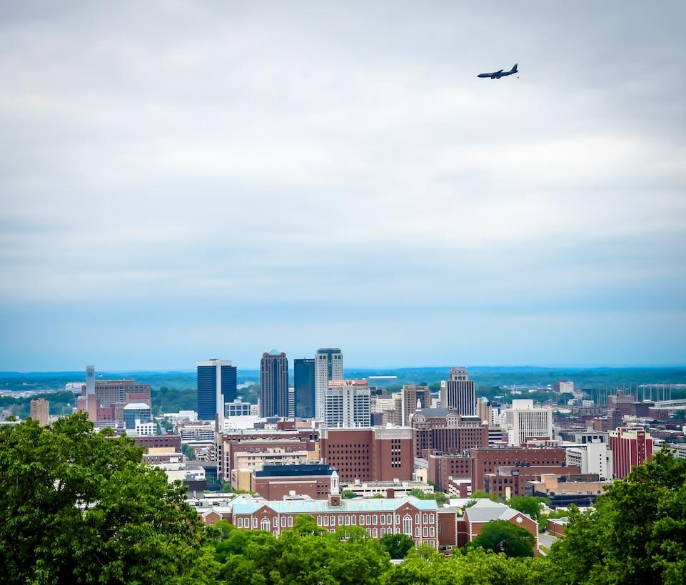 117 ARW Salutes Alabama with Flyovers