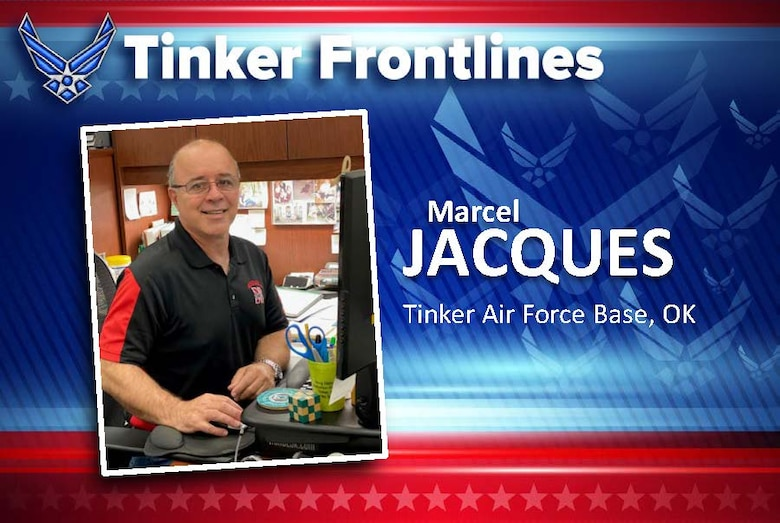 Marcel Jacques is the Drug Demand Reduction Program manager with the 72nd Air Base Wing. He came to Tinker in 2009 as an Air Force Reserve recruiter, before retiring in 2014 and assuming his role in the DDRP office.