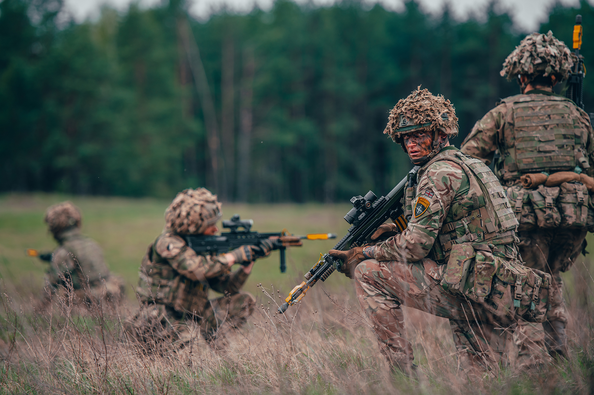 British Army's • Enhanced Recce Exercise • NATO Battle Group • Poland 2020
