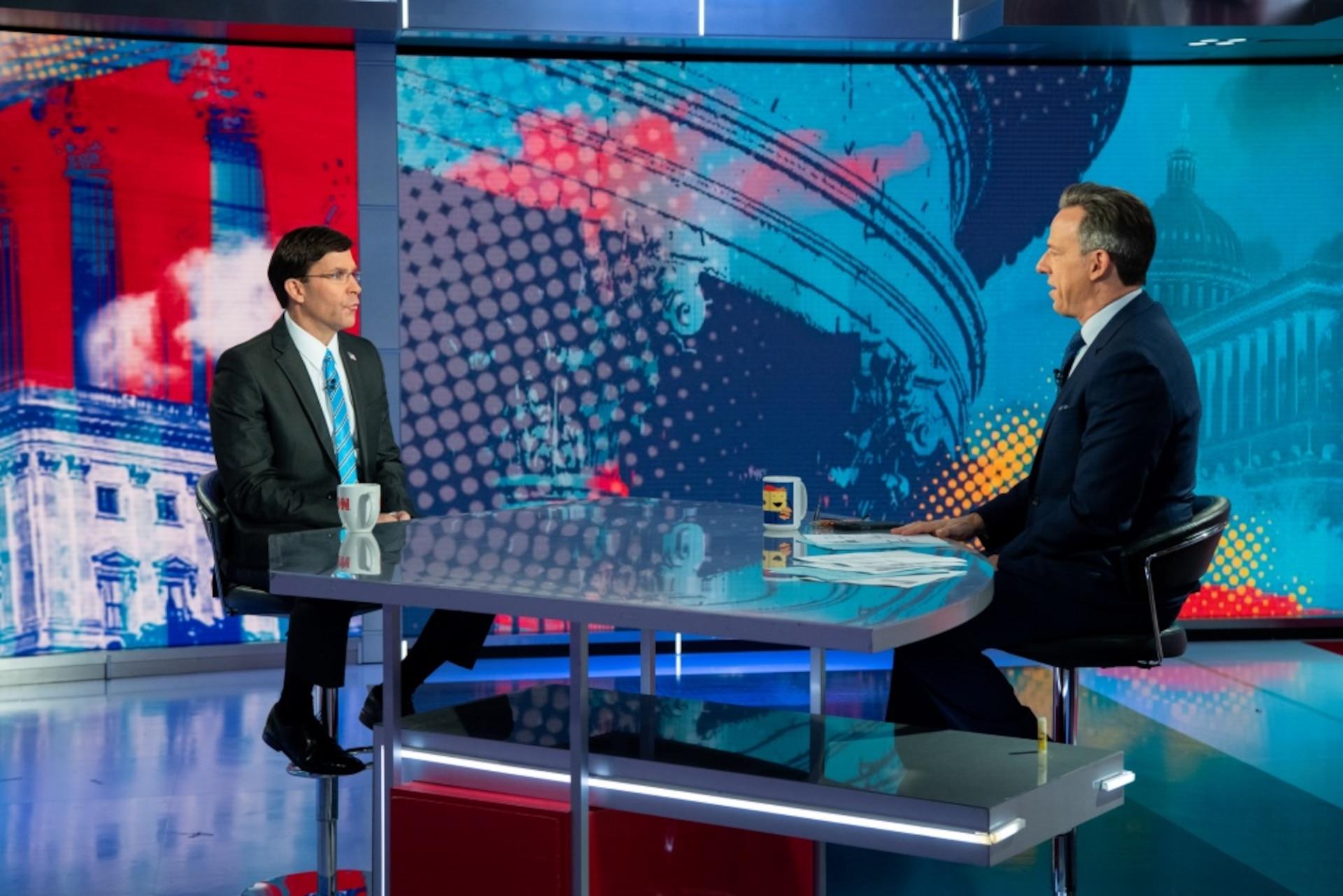 Defense Secretary Interviews with Jake Tapper on CNN
