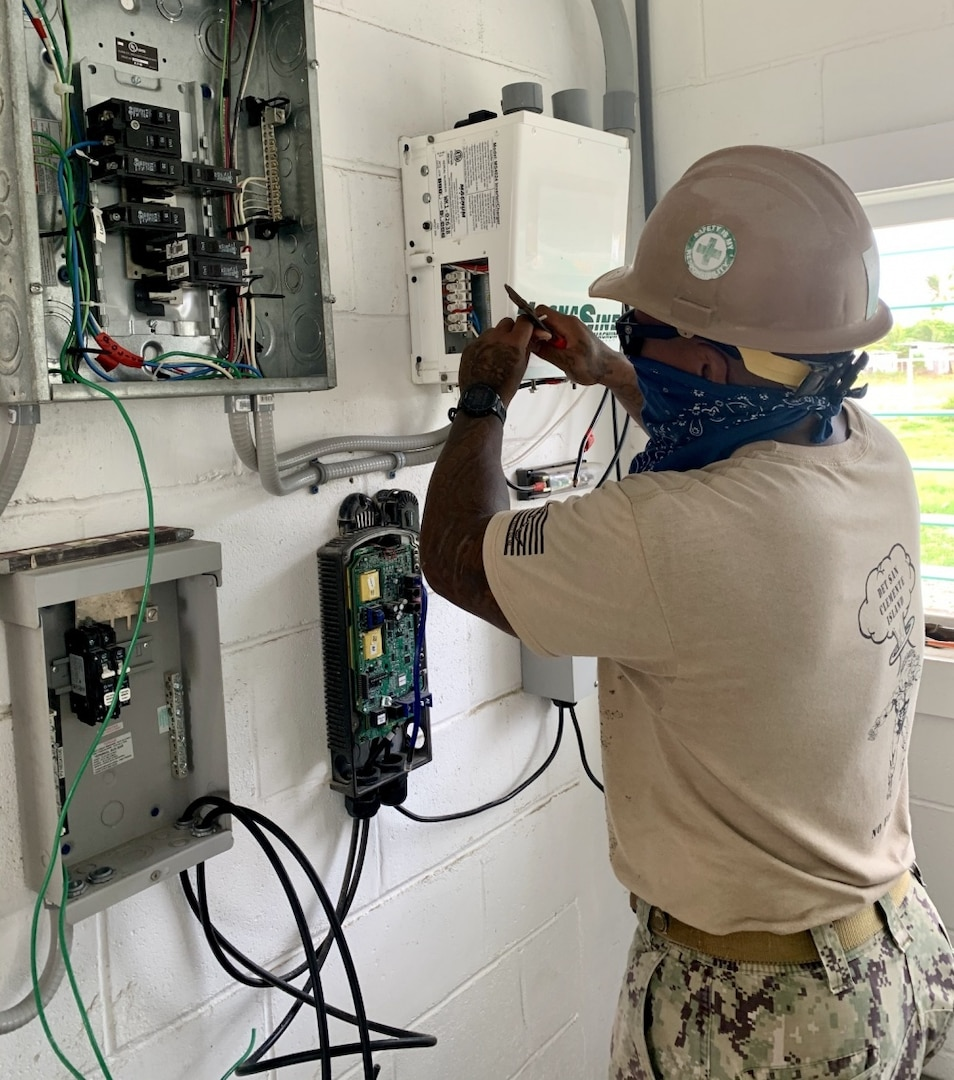 NMCB-5's Seabees Connect with the Community of Marshall Islands