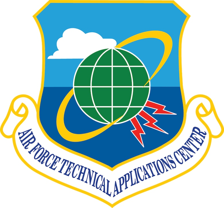 Official shield of the Air Force Technical Applications Center