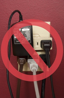 When using electrical appliances extension cords, light bulbs and other equipment, safety tips should be encompassed in household rules and daily behavior expectations for members of the family.