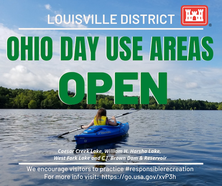 Ohio Day Use Areas Open