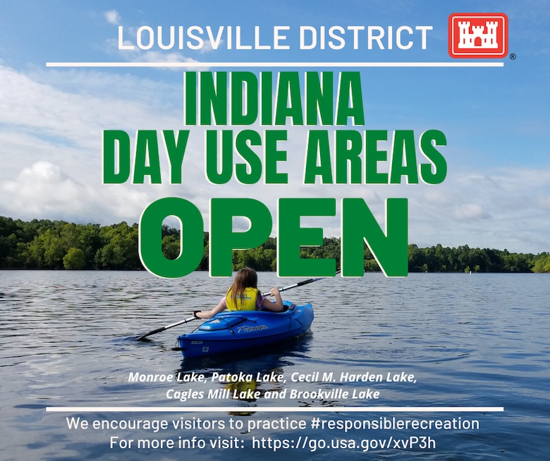 Indiana Day Use Areas Open