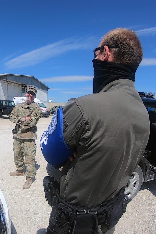 Multinational partners, KFOR military police meet