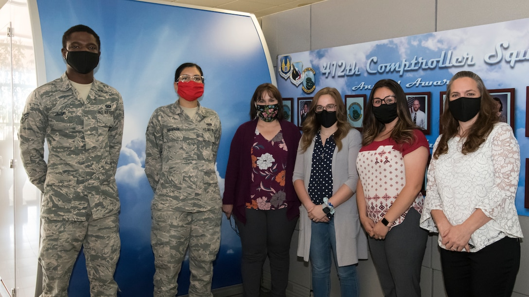 The 412th Comptroller Squadron is testing the new Comptroller Services Portal. Airmen at Edwards Air Force Base, California, can now access the 412th CPTS's CSP to submit inquiries with travel pay, military pay and even civilian pay. (Air Force photo by Giancarlo Casem)