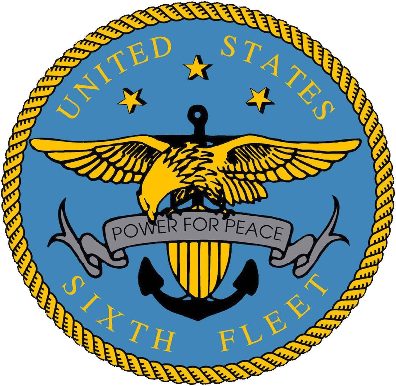 U.S. 6th Fleet Logo