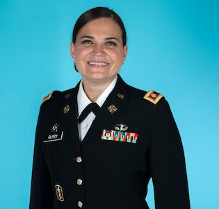 Maj. Rose Gilroy is the commander of the Indiana National Guard's new 127th Cyber Protection Battalion. The unit of almost 100 Guard members falls under the only cyberbrigade in the Army National Guard, the 91st Cyber Brigade based in Virginia.