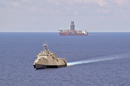 U.S. Navy Maintains Persistent Presence Near West Capella