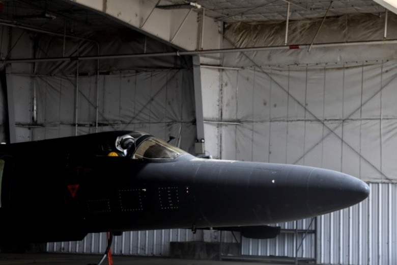 For the first time in Air Force history and the 9th Reconnaissance Wing, reservist Maj. Jeffrey Anderson, 99th Reconnaissance Squadron pilot, qualified to fly the U-2 Dragon Lady.